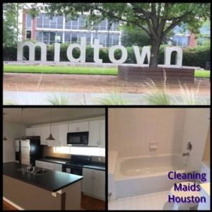 Apartment and House Cleaning Services Midtown Houston